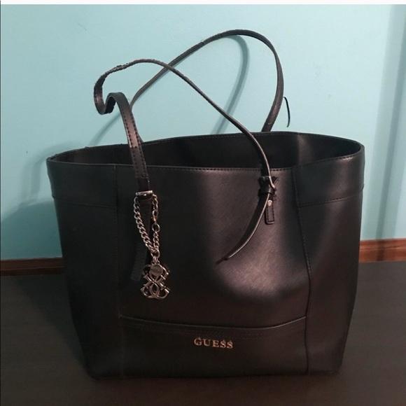 6c0789d5d9f3 Guess Handbags - GUESS Delaney Tote Bag
